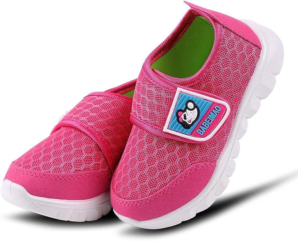 DADAWEN Babys Boys Girls Mesh Light Weight Sneakers Running Shoe
