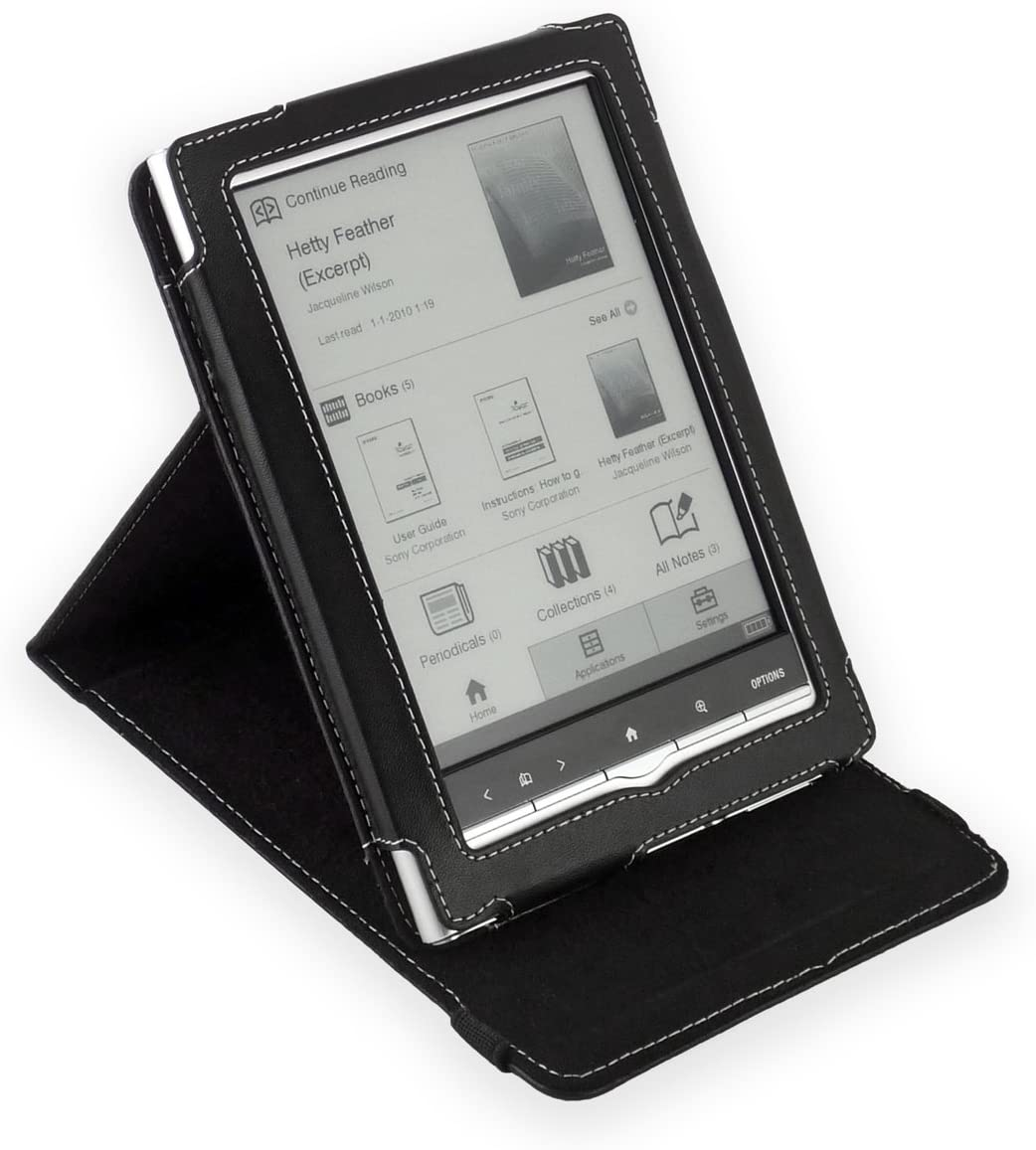 Cover-Up – Funda de Cuero para Sony PRS-650 Touch Edition con ...