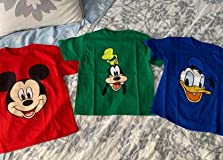 Great colors, classic icons, perfect for Disney!