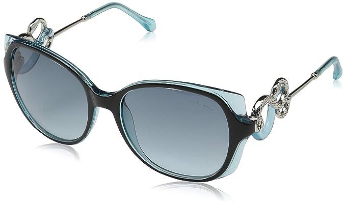 Amazon.com: Gafas de sol Roberto Cavalli RC 1035 01W negro ...