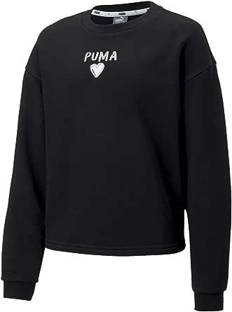 PUMA Alpha Crew Sweat G Sudadera Niñas