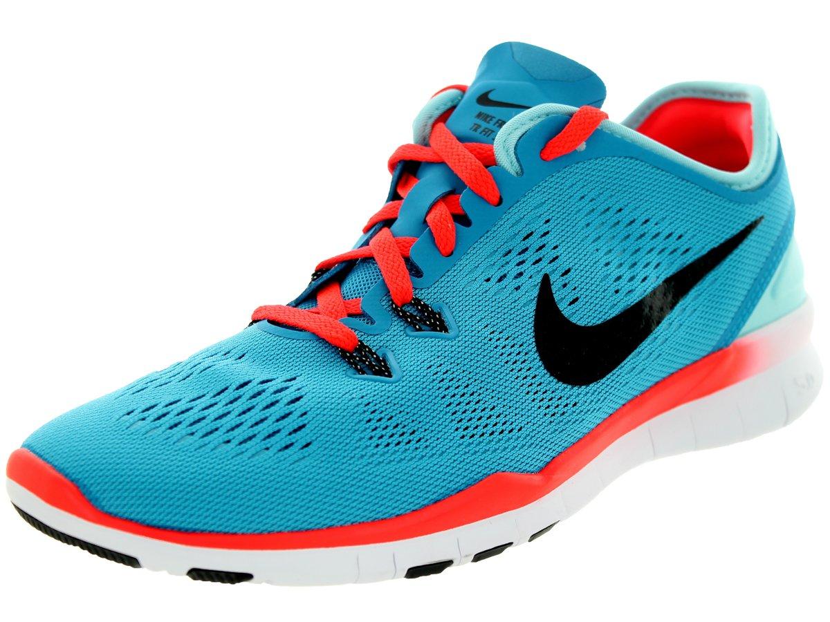 NIKE Women's Free 5.0 TR Fit 5 Training Shoe B01F4DMC9Y 8 B(M) US|Blue Lagoon/Bright Crimson/Copa/Black
