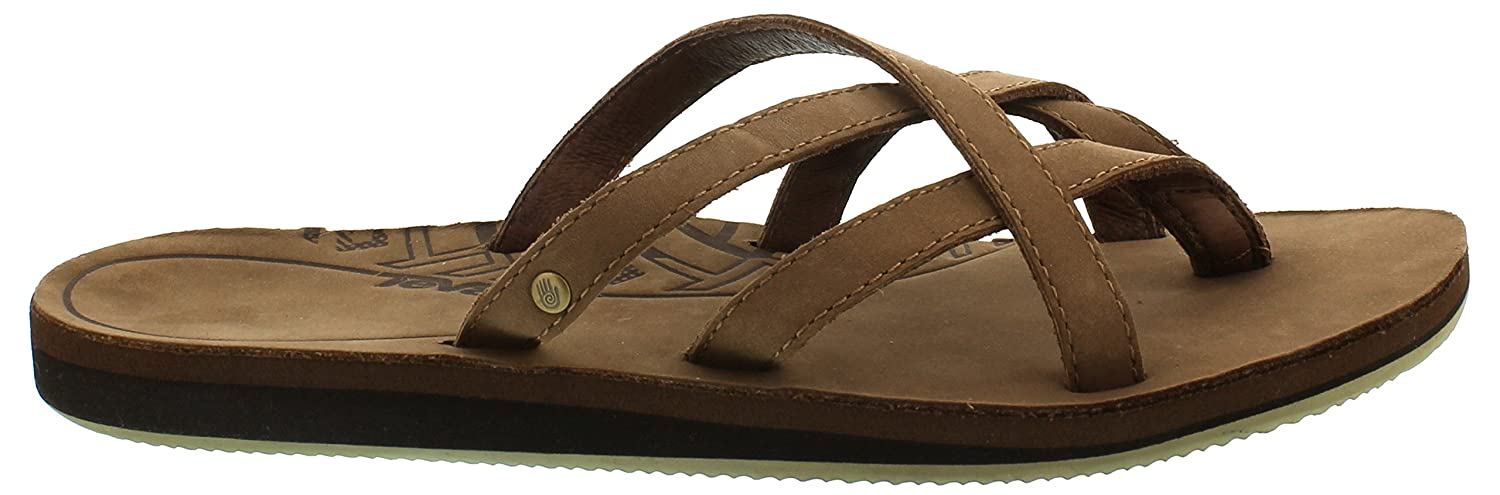 Teva Olowahu Leather W's Damen Sport & Outdoor Sandalen