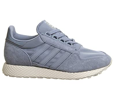 low priced 2d8b8 f7c85 adidas Forest Grove W Chaussures de Fitness Femme, Gris  (GrinatBlanubGriuno