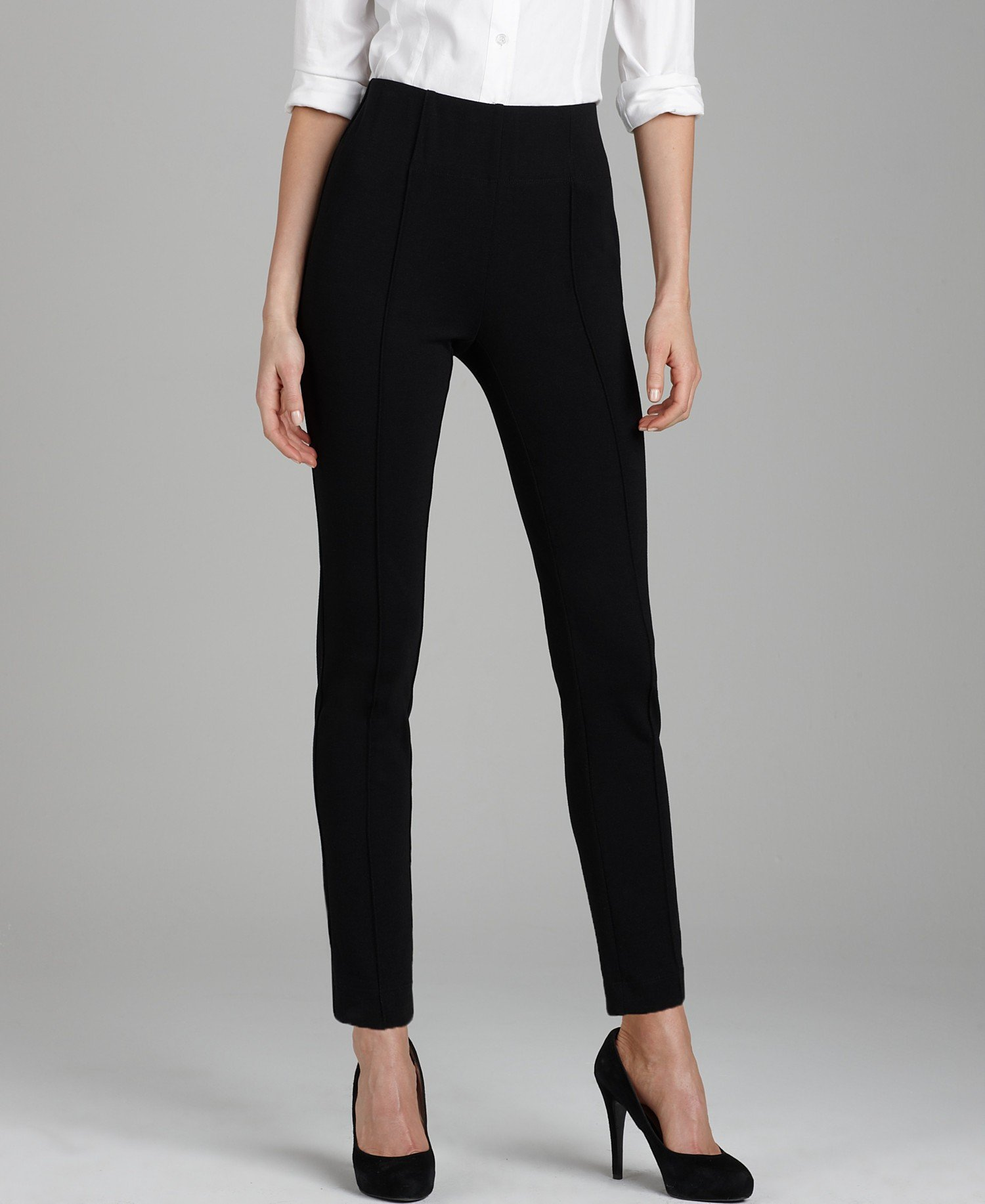 Style & Co. Legging Pants Ebony Black (Small Petite)