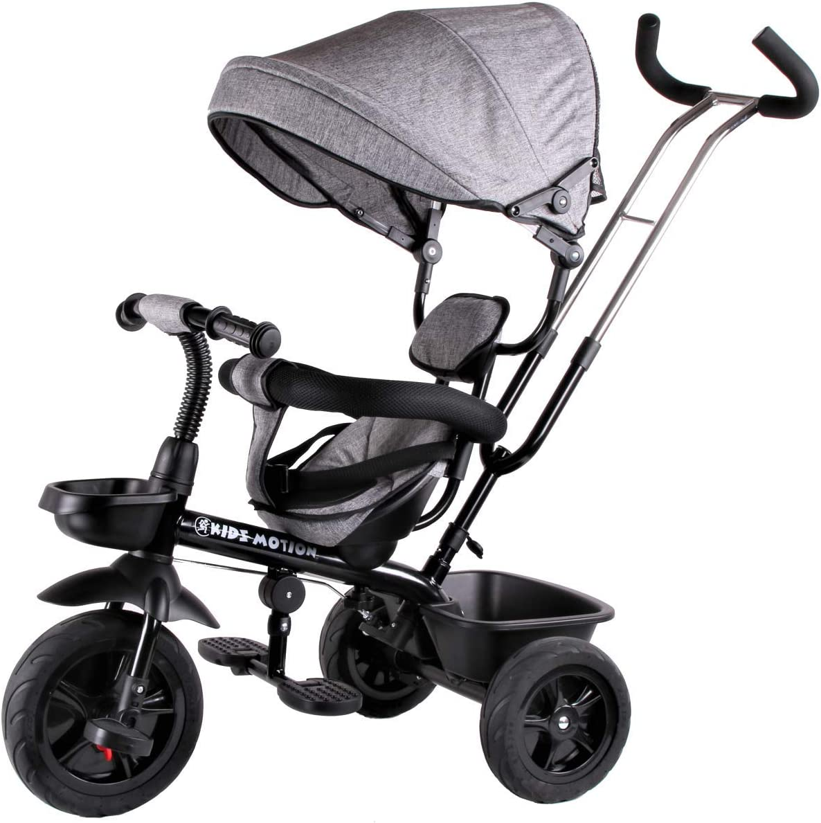 Kidz Motion Bicicleta Triciclo Infantil Para Bebés Giratorio De 9 meses a 5 años