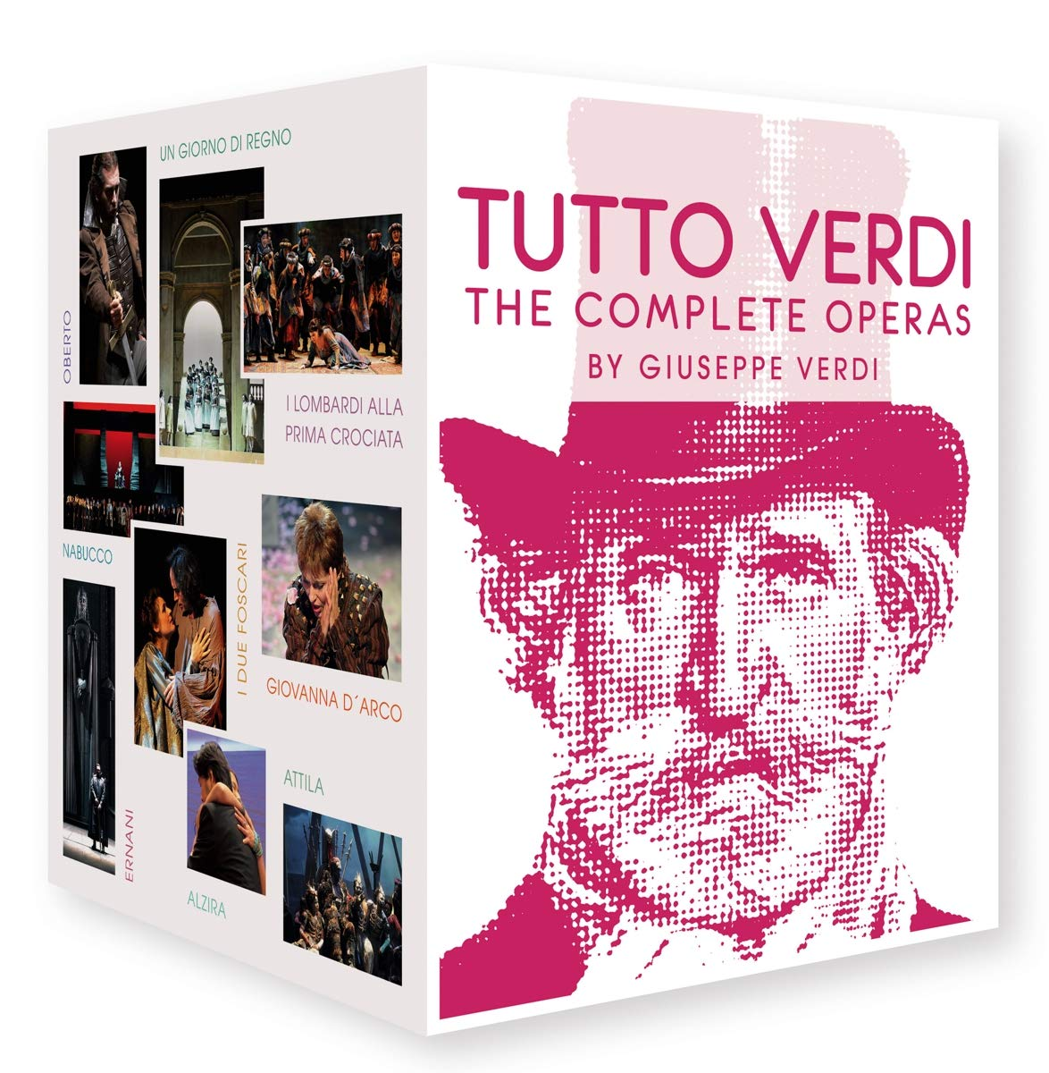 Blu-ray : Tutto Verdi (Blu-ray)