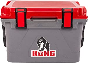 KONG Coolers | 25 Quart Rotomolded | Proudly Made in The USA | Durable, Safe, No-Slip Feet, Extended Ice Retention Cooler