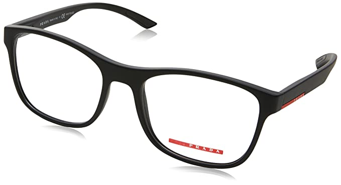 ae347f53e8ba Prada Linea Rossa VPS 08G Col.DG0-1O1 Cal.54 New EYEGLASSES-EYEWEAR   Amazon.co.uk  Clothing
