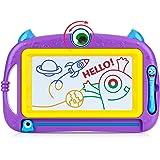 Peradix Pizarra Magnética Infantil, Pizarras Mágicas Colorido con Pluma, Almohadilla Borrable de Escritura y Dibujo, No…
