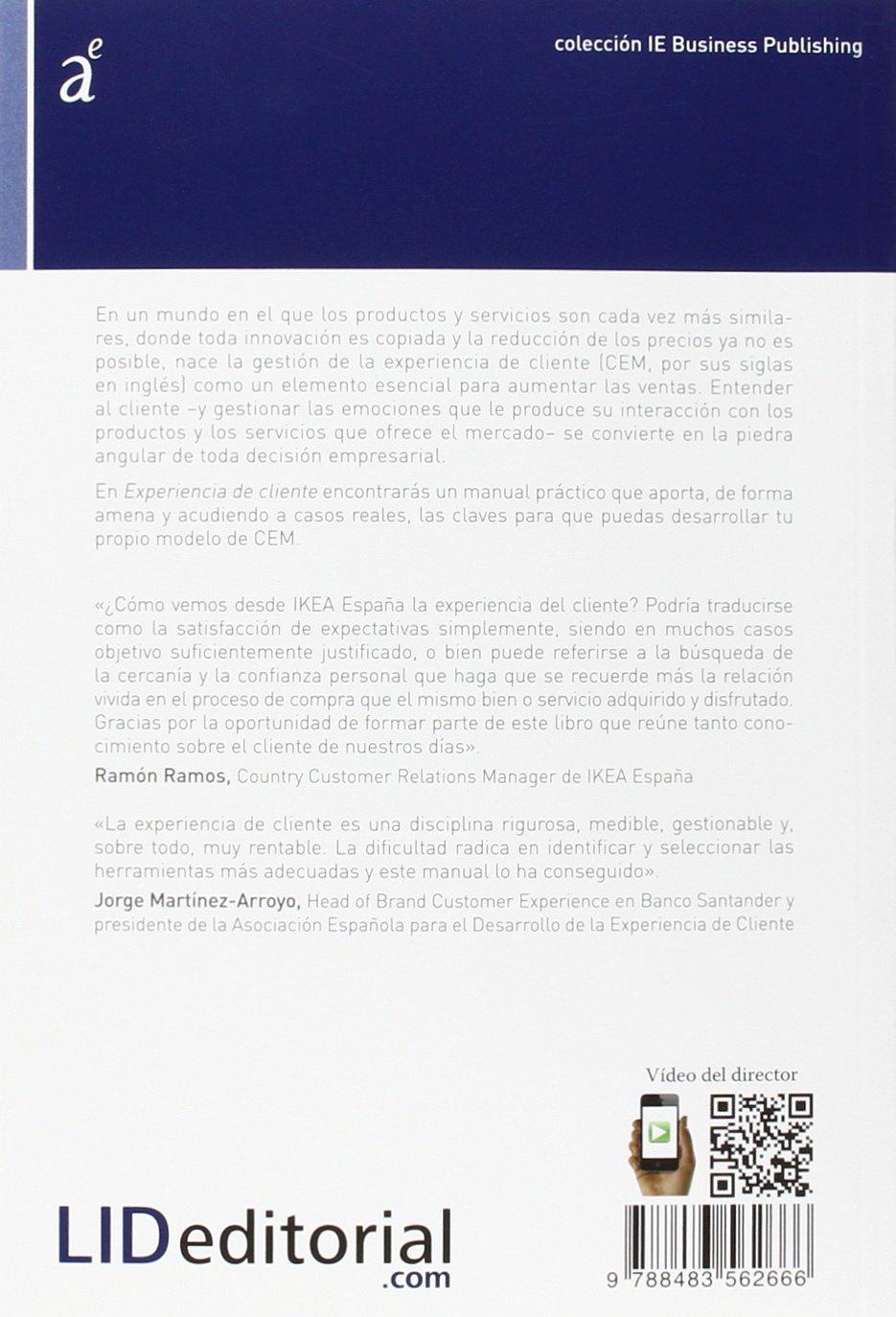 Experiencia de cliente colección IE Business Publishing: Amazon.es: Marcos González de La-Hoz Fernández, Almudena Román: Libros