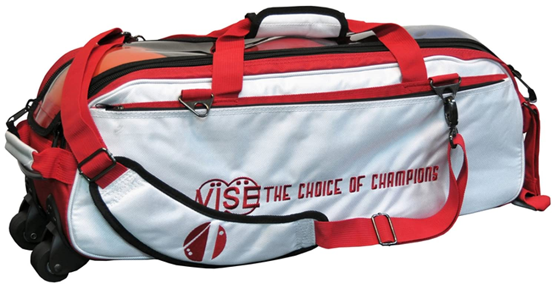 Bowling-Tasche, Vise Grip 3 Ball Roller, Triple Roller in 12 verschiedenen Farben, für alle Gewichte und Bowling Bälle