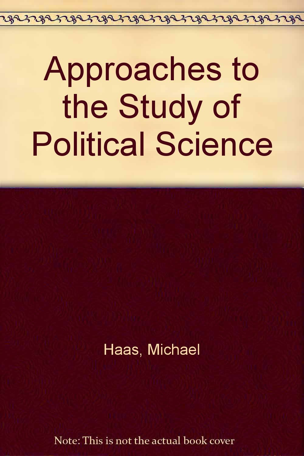 approaches to the study of political science