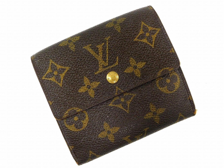 [ルイヴィトン] LOUIS VUITTON 二つ折り財布 モノグラム M61652 PVC×レザー X15867 中古 B07599WK3M