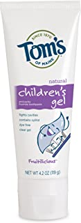 product image for Tom's of Maine Children's Natural Fruitilicious Anti Cavity Gel, 4.2 Ounce