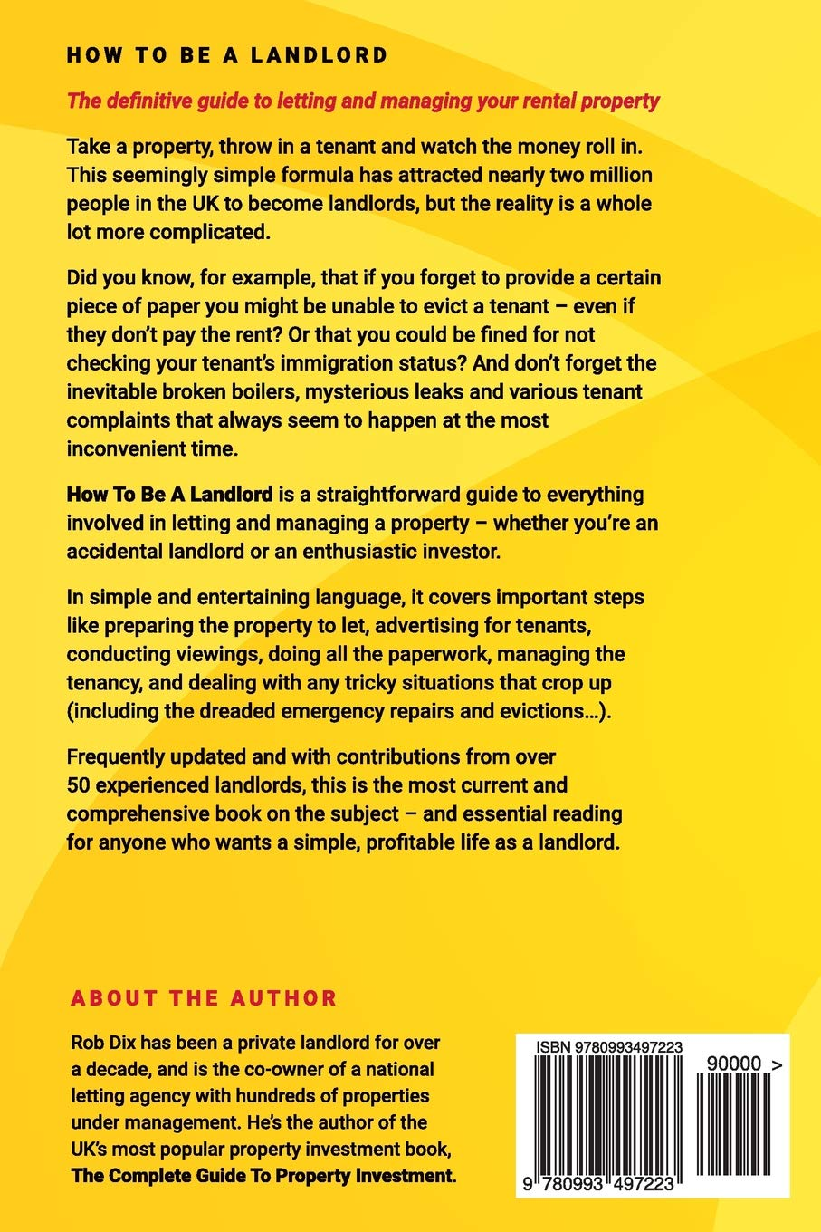 How To Be A Landlord: The Definitive Guide to Letting and