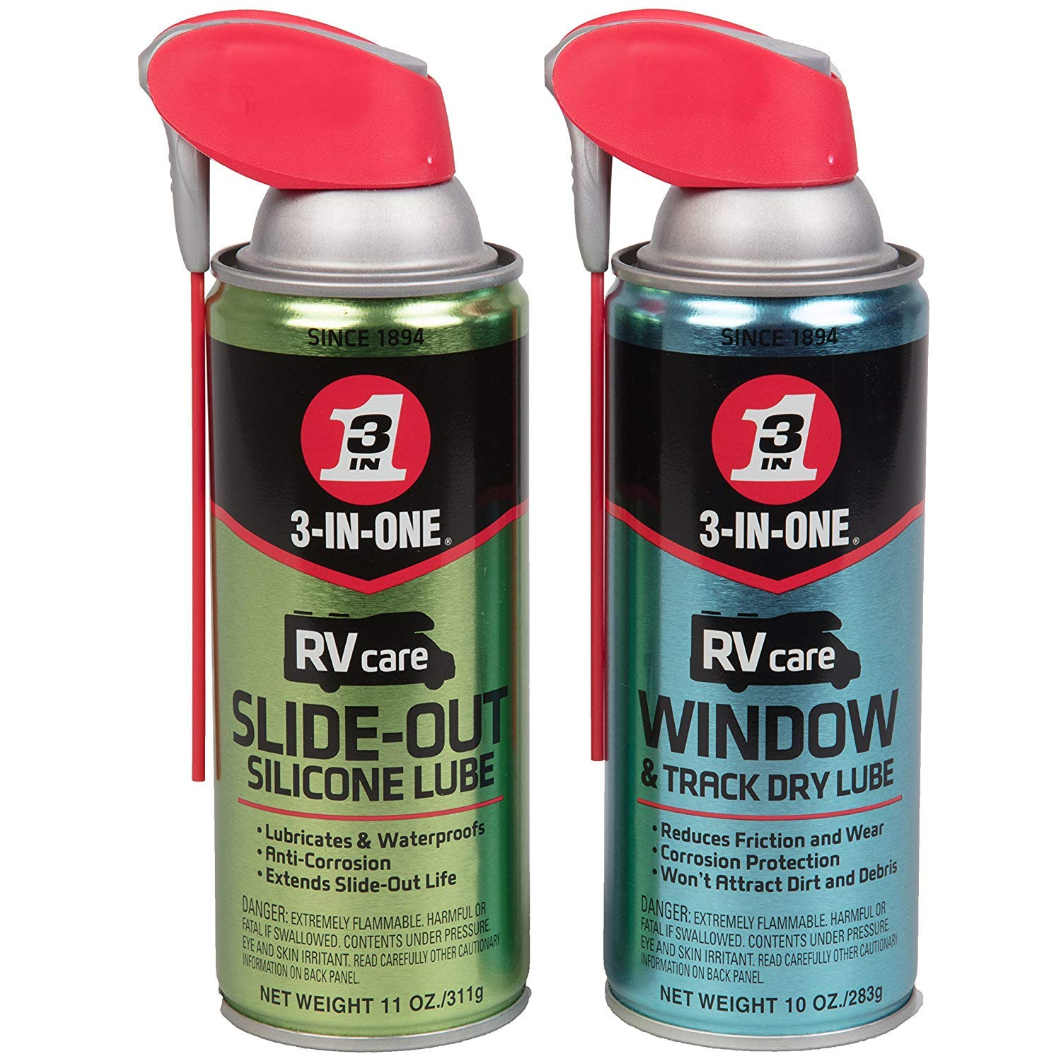 3 In One 120070 Lock Dry Lube 2 5 Oz Pack Of 1 Amazon