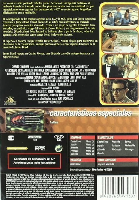 Casino Royale [DVD]: Amazon.es: David Niven, Peter Sellers ...