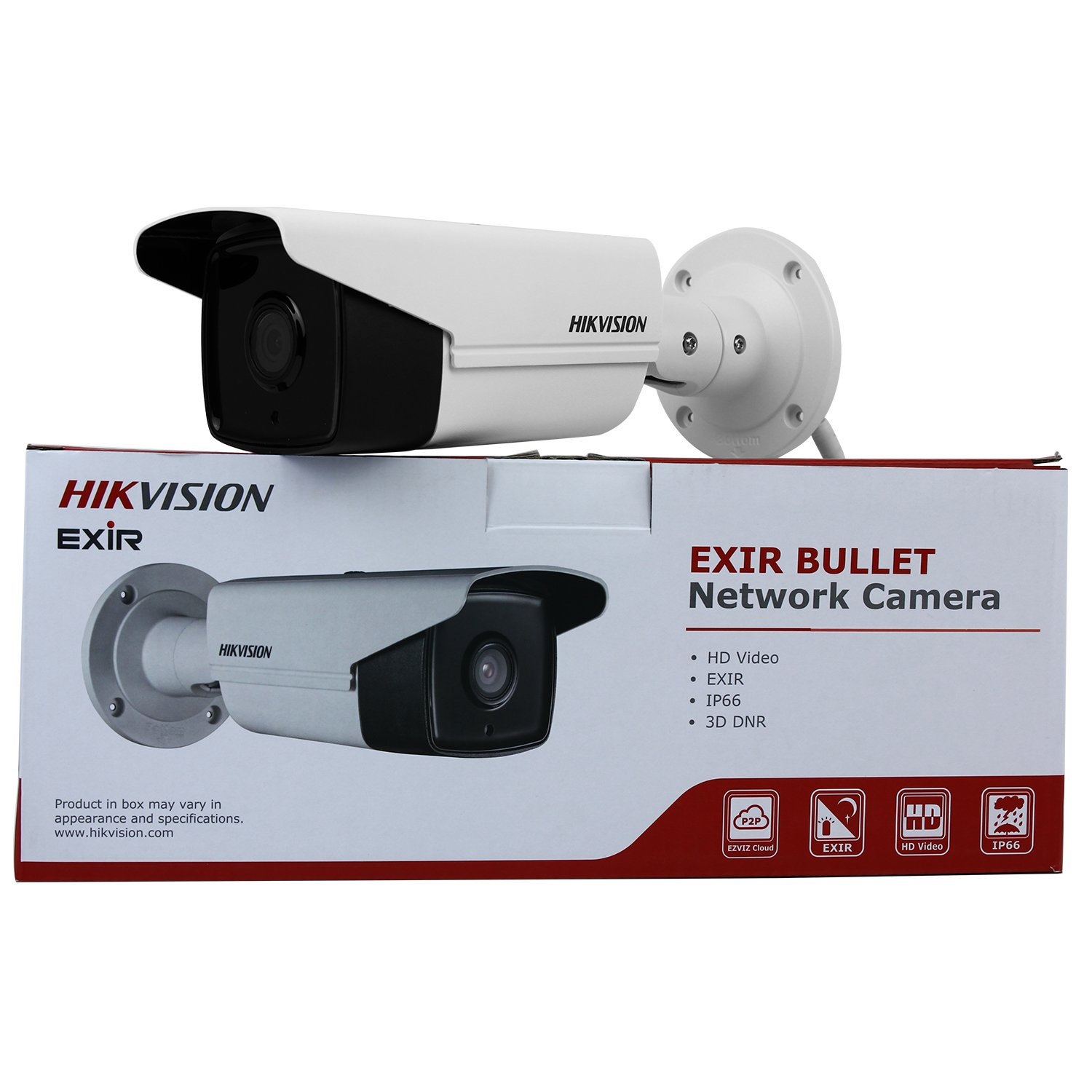 HIKVISION DS-2CD2T42WD-I5 4MP Outdoor 120dB WDR 3D DNR (Waterproof Day Night Motion Detection) 12V DC & PoE,6MM