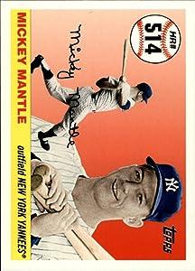 2006 Topps Mantle Home Run History #514 Mickey Mantle MLB Baseball Trading Card