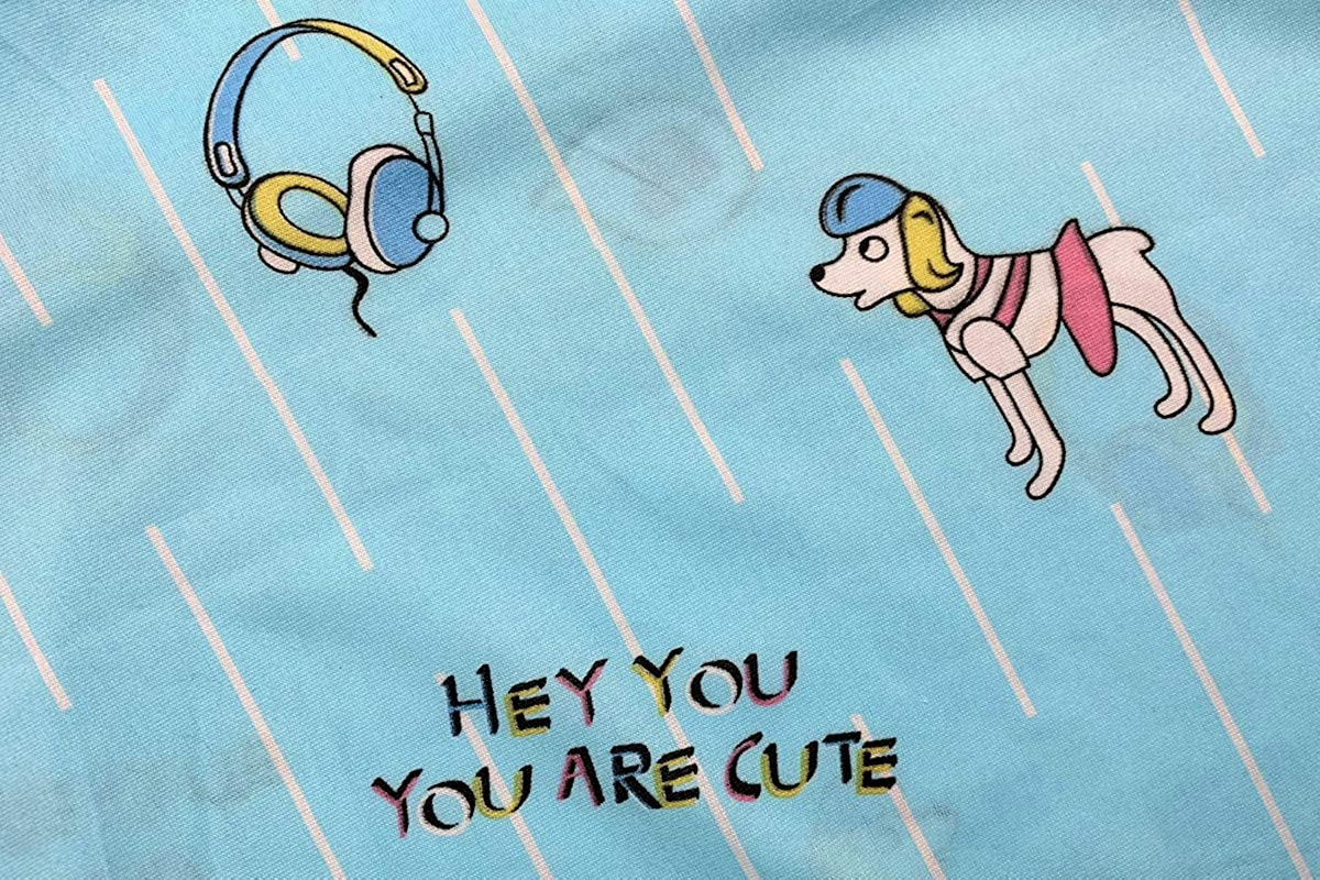 Hupohoi Big Girls Summer Pajama Sets Cute Dog Cartoon Sleepwear Age 8-15 Years