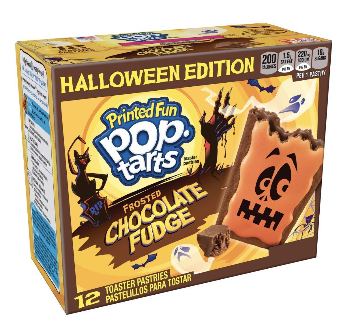 Kellogg's Pop-Tarts Chocolate Fudge Halloween