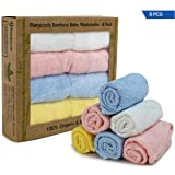 Bamboo Baby Washcloths for Face and Bath, Soft