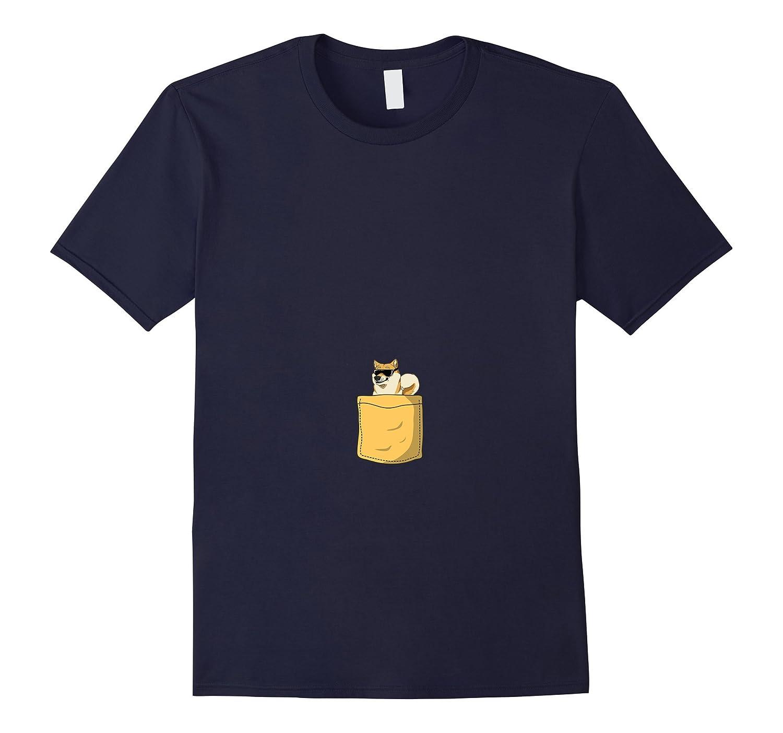 Tshirt Pocket Limited Doge Dog Meme Original Shiba Inu CD Canditee