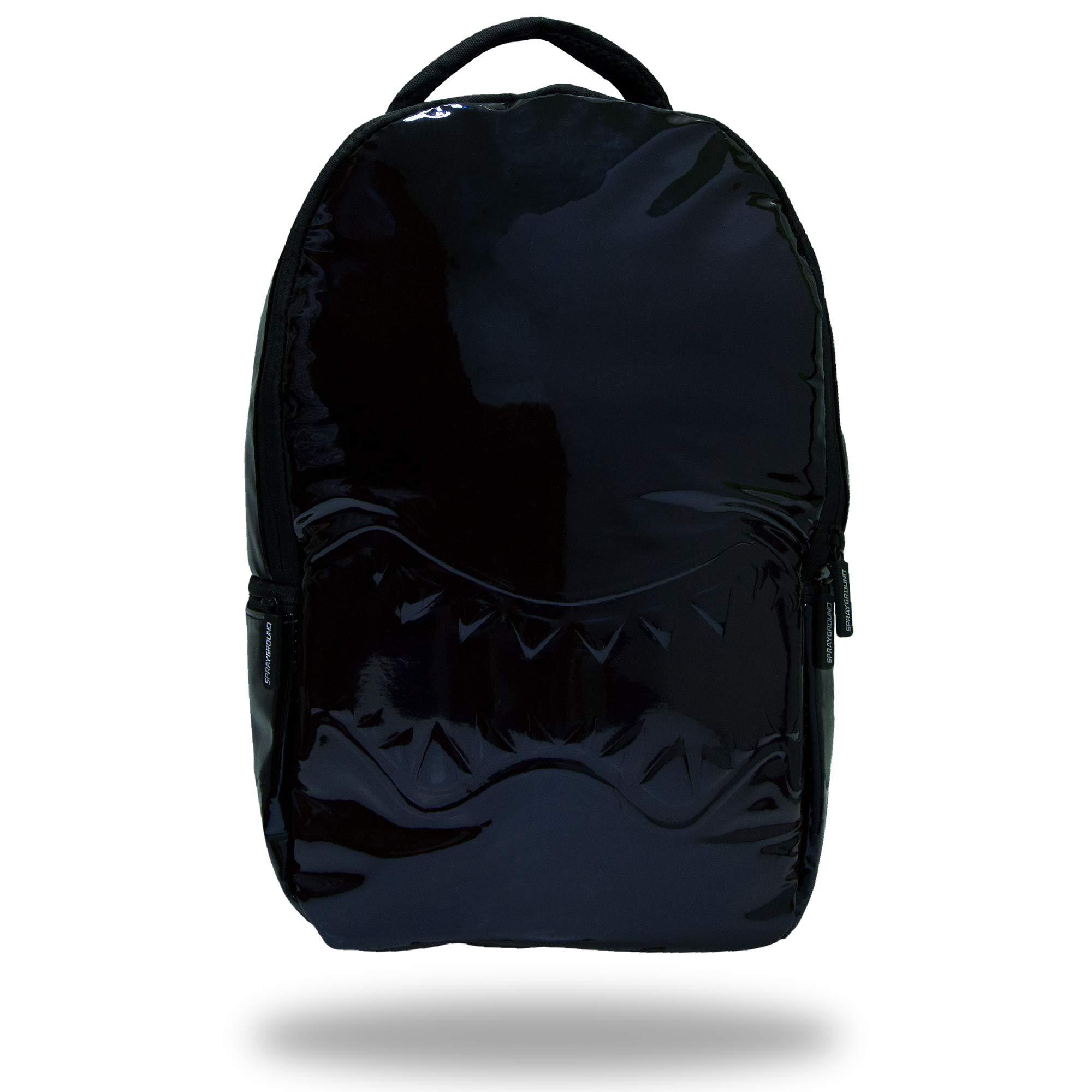 Sprayground metallic backpack DELUXE (blue) by Sprayground-