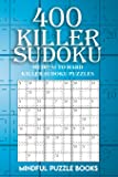 400 Killer Sudoku: Medium to Hard Killer Sudoku Puzzles