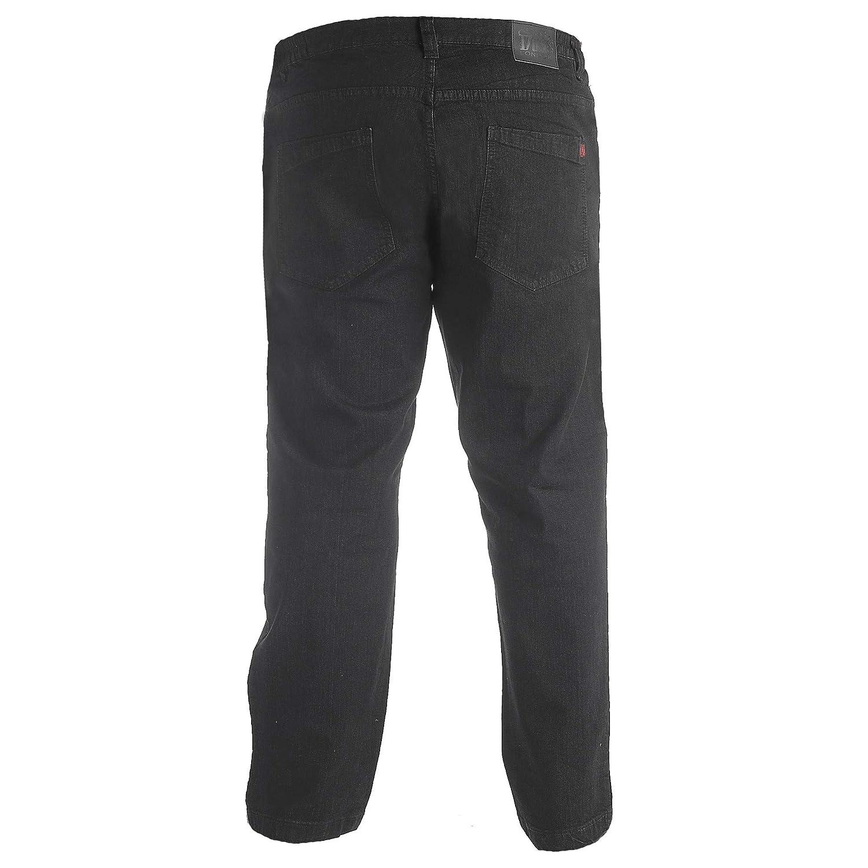 Duke London Mens Kingsize Balfour Comfort Fit Stretch Jeans