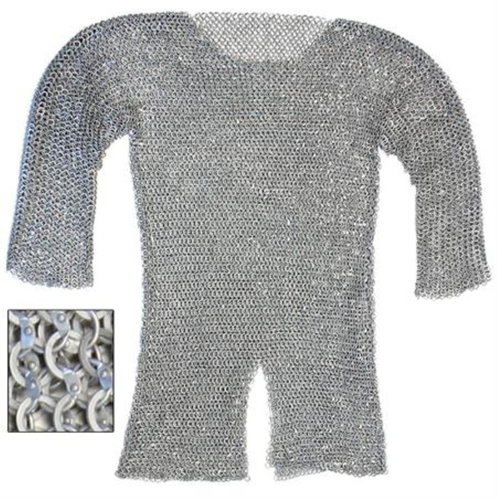 Large Lightweight Aluminum Chainmail For Costumes and Reenactments