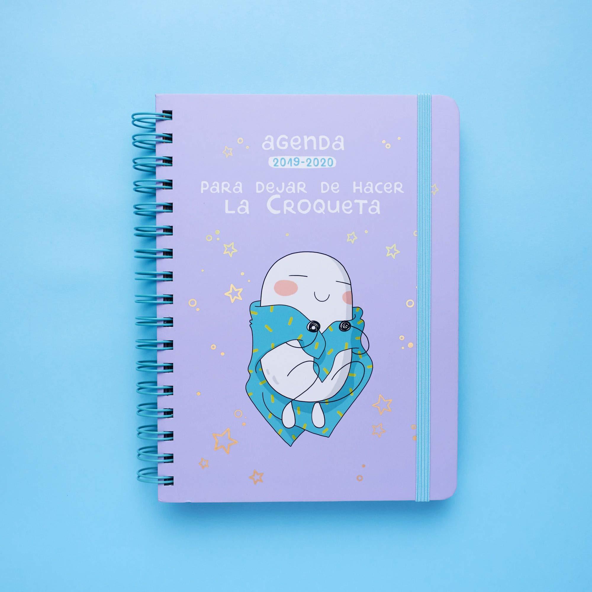 Amazon.com: Agenda escolar 2019-2020 Croqueta y Empanadilla ...