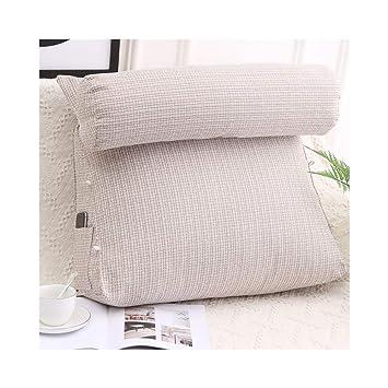 Amazon.com: Cojín trasero, almohada reposacabezas almohada ...