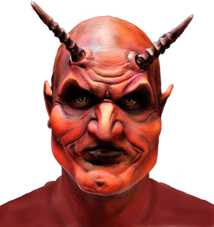 Woochie Foam Prosthetics - Professional Halloween and Costume Facial Accessories - Devil