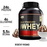 Optimum Nutrition 欧普特蒙 金牌乳清蛋白营养粉 香草冰淇淋口味,1瓶装 2.273 kg