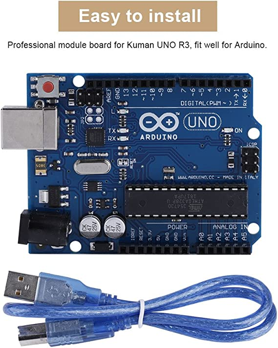 Kit de Montaje para Impresora 3D DIY CNC módulo Kit Placa desmontada Piezas Motor Paso a Paso para Kuman R3 Arduino DIY Kit de impresión: Amazon.es: Electrónica