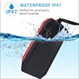 AstiVita Waterproof Portable Bluetooth Speaker - Portable Speaker - IPX7 (Red)