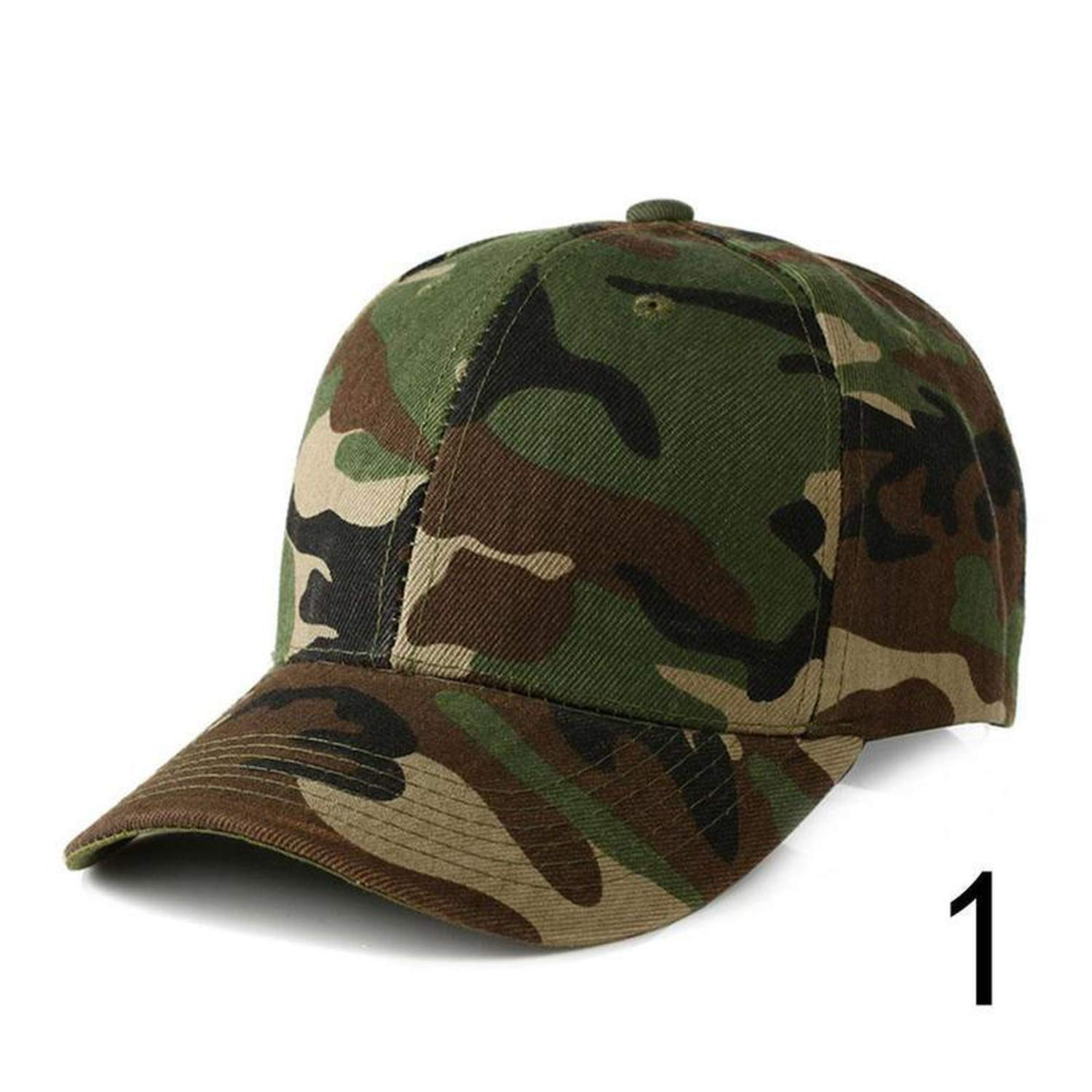 Amazon.com: Camouflage Baseball Cap Men Tactical Cap Camouflage Hippop Snapback Hat Masculino Dad Hat: Clothing