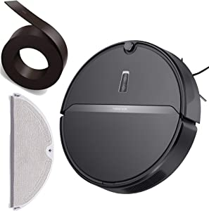 roborock E4 Robot Vacuum Cleaner with E4 Water Tank and Magnetic Strip Kit