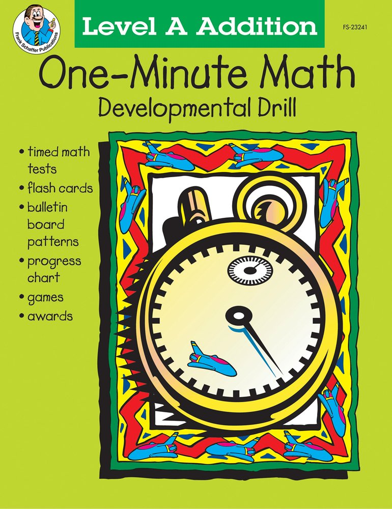 One-Minute Math Developmental Drill, Grades 1-2, Level A Addition ...