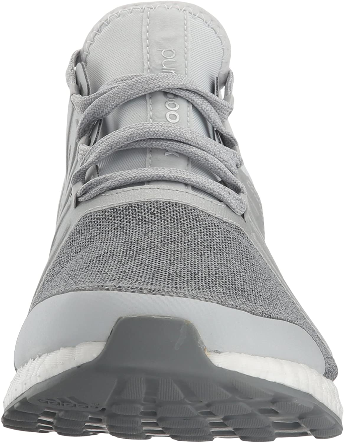 adidas Performance Women's Pureboost Xpose Running Shoe Clear/Grey/Metallic/Silver/Mid Grey