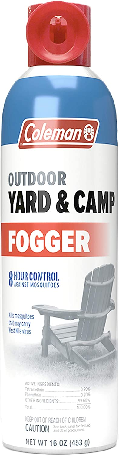 Coleman Outdoor Yard Fogger Mosquito Repellent, for backyards and campsites - 16 Ounce
