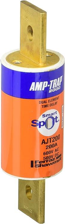 FERRAZ SHAWMUT Amp-Trap ajt200 Fusible 600vac 500vdc 200 a Neuf-Scellé