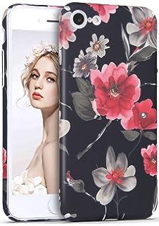 4d9b258c7c Imikoko iPhone7 ケース iPhone 8 ケース カバー iPhoneケース スマホケース おしゃれ かわいい 花柄 人気 ブランド