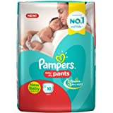 Pampers Pants Diapers for New Born Up to 5kg, (10 Count)