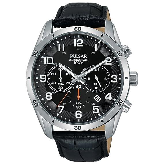 Pulsar Reloj los Hombres Sport Cuarzo Cronógrafo PT3833X1: Amazon.es: Relojes