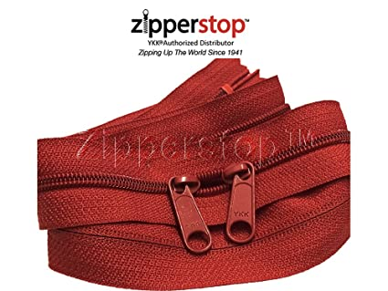 3fe24ee0ddac Image Unavailable. Image not available for. Color  Zipperstop wholesale - Double  Slide Zipper YKK ...