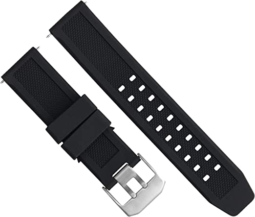 23mm Rubber Watch Band Strap Compatible With Citizen Eco Drive At8020 03l Black H800 S081165 Amazon Com