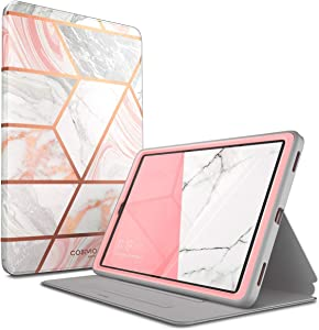 i-Blason Case Designed for Galaxy Tab A 10.1 (SM-T510/T515) 2019, [Cosmo] Full-Body Protection with Built-in Screen Protector Case for Samsung Galaxy Tab A 10.1 2019 Release (Marble)